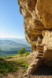 Caves at Tepe Kermen, Crimea Royalty Free Stock Photo