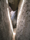 The Caves at Virgin Gorda: Crevice Stock Image