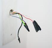 Cavi con nastro adesivo Fotografie Stock Libere da Diritti