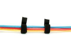 Cavi di Ethernet legati cavo Fotografie Stock Libere da Diritti