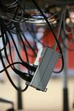 Cavi elettrici Immagini Stock Libere da Diritti