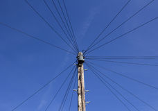 Cavi telefonici Fotografia Stock Libera da Diritti