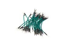 Cavi verdi con le anse verticali Immagini Stock Libere da Diritti