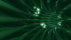 Cavi verdi e segnali di dati infiammanti trasmitting royalty illustrazione gratis
