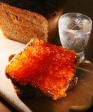 Caviale rosso Fotografia Stock Libera da Diritti