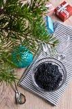 Caviar black Stock Image