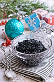 Caviar black Royalty Free Stock Images