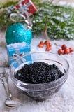 Caviar black Stock Photography