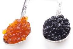 Caviar coloré Image libre de droits