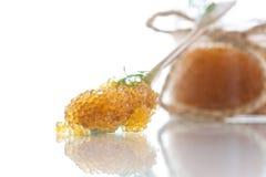 Caviar de Pike fotografia de stock royalty free