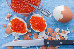 Caviar eggs Royalty Free Stock Photo