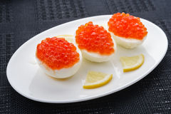 Caviar eggs Royalty Free Stock Image