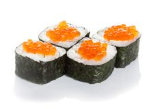 Caviar maki Stock Photos