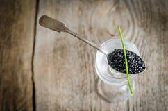 Caviar noir photo libre de droits
