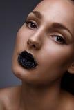 Caviar nos bordos Imagem de Stock