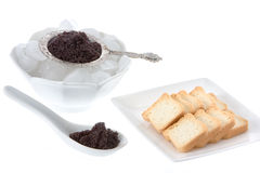 Caviar presentation Royalty Free Stock Image