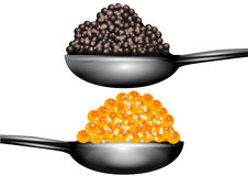 Caviar Royalty Free Stock Photos