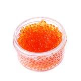 Caviar rojo Fotografía de archivo libre de regalías