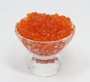Caviar rojo Fotos de archivo