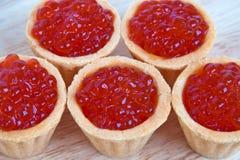 Caviar rouge Photo libre de droits