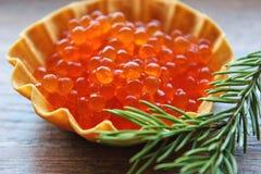 Caviar rouge Photo stock