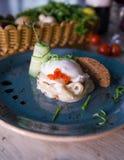 Caviar rouge Photos stock