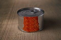 Caviar saumoné russe du Kamtchatka Images stock