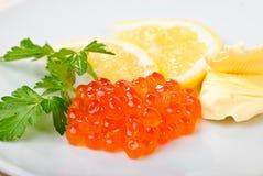 Caviar snack Royalty Free Stock Photos