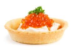 Caviar snack Stock Photo