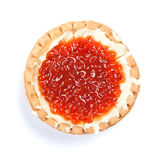 Caviar in tartlet Royalty Free Stock Photos