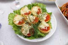 Caviar Tartlets Royalty Free Stock Photo