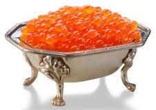 Caviar vermelho Imagem de Stock Royalty Free