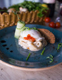 Caviar vermelho Fotos de Stock
