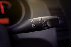Cavicchio del commutatore integrato automobile Immagini Stock Libere da Diritti