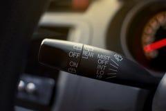 Cavicchio integrato del commutatore dell'automobile Fotografia Stock Libera da Diritti