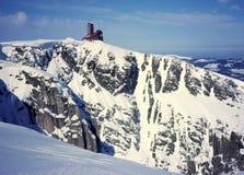 Cavidade da neve Fotografia de Stock Royalty Free