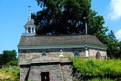 Cavidade sonolento, NY: Igreja 1685 holandesa velha Foto de Stock