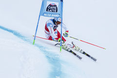 CAVIEZEL Gino in Audi Fis Alpine Skiing World Cup Men's Giant Royalty Free Stock Images