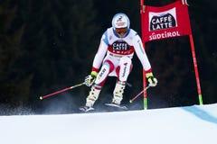 CAVIEZEL Gino in Audi Fis Alpine Skiing World-de Reus van Kopmen's stock fotografie
