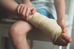 Caviglia del bambino Immagine Stock Libera da Diritti