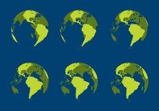 cavité de globe Illustration Stock