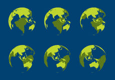cavité de globe Illustration de Vecteur