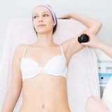 Cavitation treatment Royalty Free Stock Photo