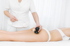 Cavitation treatment Stock Image