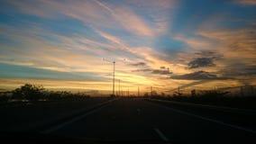 Cavite-Sonnenaufgang Lizenzfreie Stockbilder