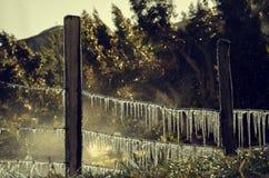 Cavo congelato Immagini Stock Libere da Diritti