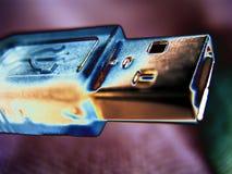 Cavo del USB Fotografia Stock Libera da Diritti