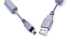 Cavo del USB Immagini Stock