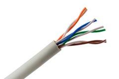 Cavo di Ethernet Fotografia Stock Libera da Diritti