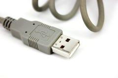 Cavo di USB Fotografia Stock